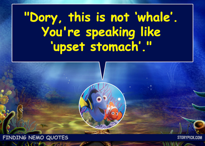 Dory Quotes | Dory Quotes Whale Lraber Info