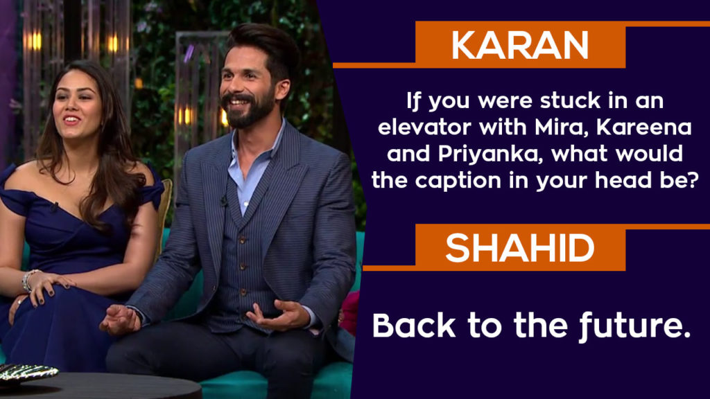 25 Rapid Fire Answers By Shahid-Mira On KWK That Were High