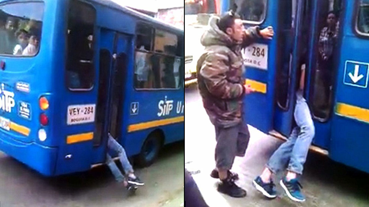 This Clever Bus Driver Trapped Thief In