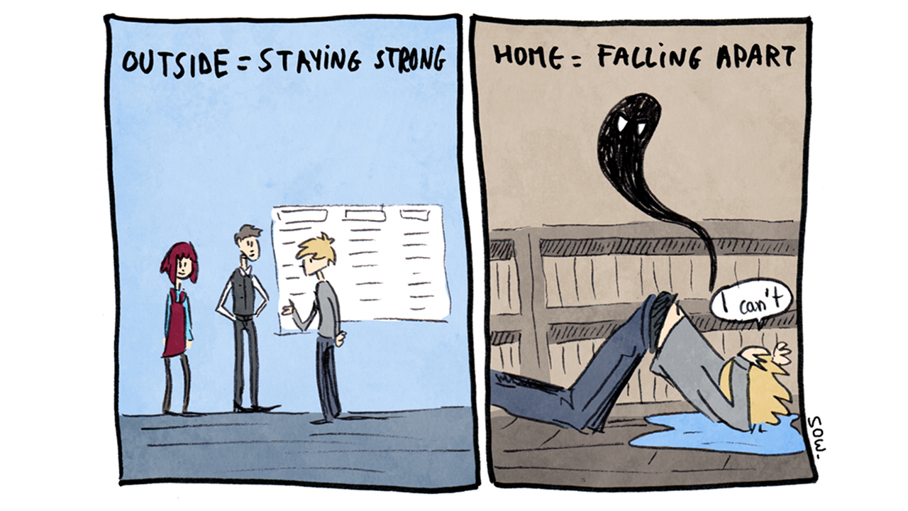 These Comics Illustrate The Terrifying Reality Of Panic Attacks Anxiety And Depression
