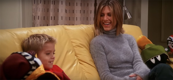 Little Ben From FRIENDS Confesses Why Working With Jennifer