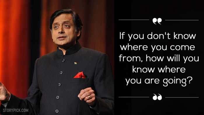 quotes by Shashi Tharoor