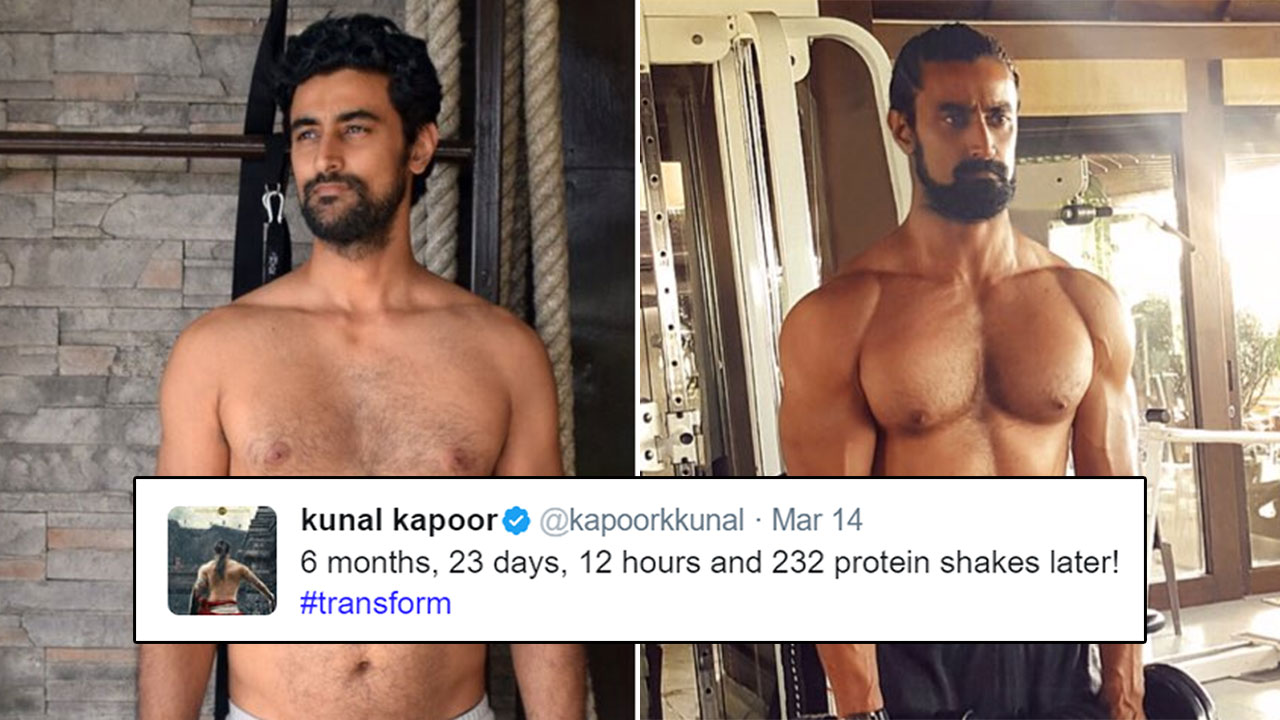 Kunal Kapoor's Transformation From Pot-Belly To A Man ...