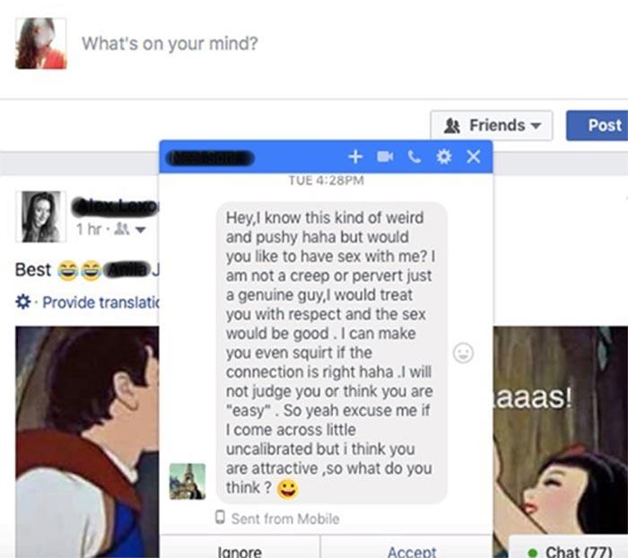 σεξ FB γυναίκα οδήγησε σχέση υπηρεσία γνωριμιών
