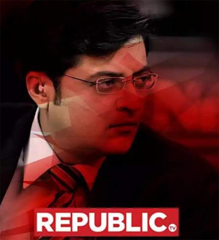 Interesting to see Goliath nervous: Arnab on Times Now complaint