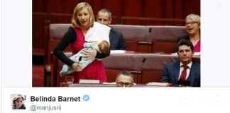 Australian-MP-Breastfeed-Baby