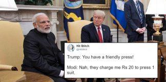 Trump-Modi-Press