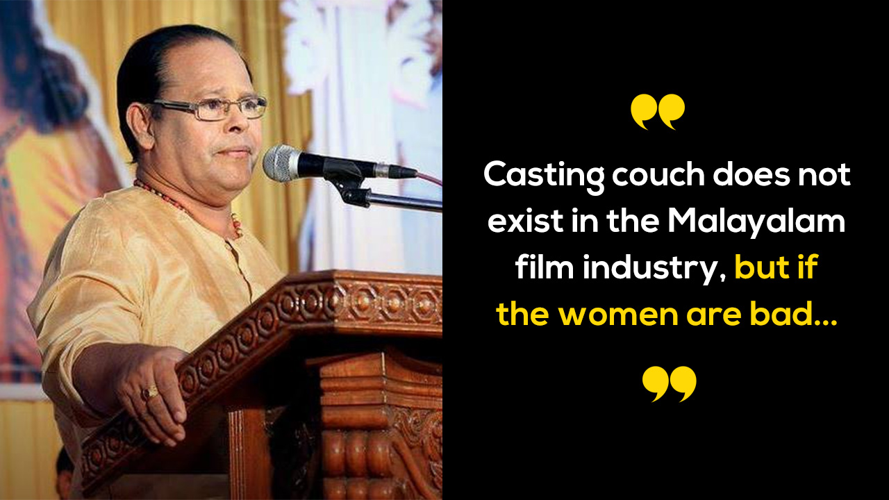 Kerala Actor-MP Thinks Casting Couch Only Exists Because