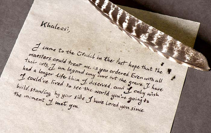 'Game of Thrones': Read Jorah's Heartbreaking Letter To Daenerys