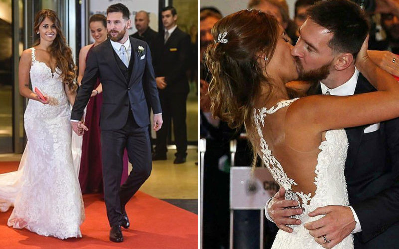 Leo Messi Married His Childhood Sweetheart Last Night And The Pictures Are Dreamy