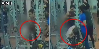 Man-Kicks-Punches-Woman-At-Gym