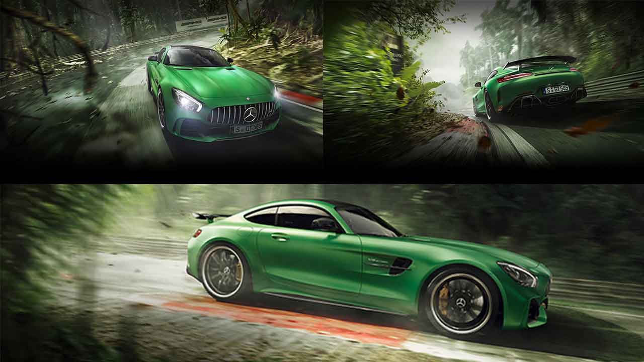 Mercedes Benz Launches The Amg Gt R Aka Beast Of The