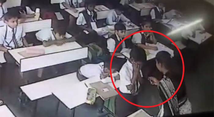 Lucknow: teacher slapped class 3 Boy for 40 times