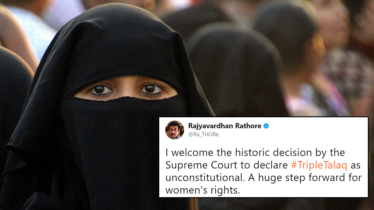 Supreme Court Declares Triple Talaq Illegal And The Internet Has Never Felt So Empowered