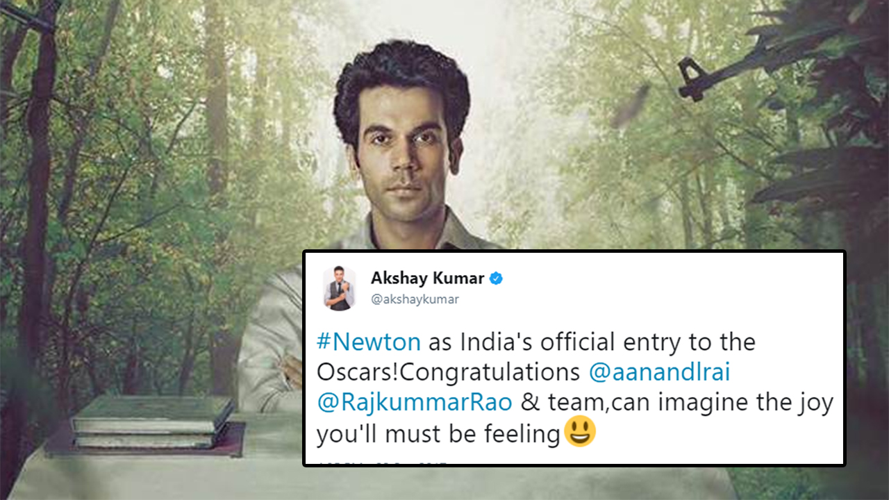 'Newton' Is India's Entry For Oscars And Rajkummar Rao Is Getting All The Love He Deserves