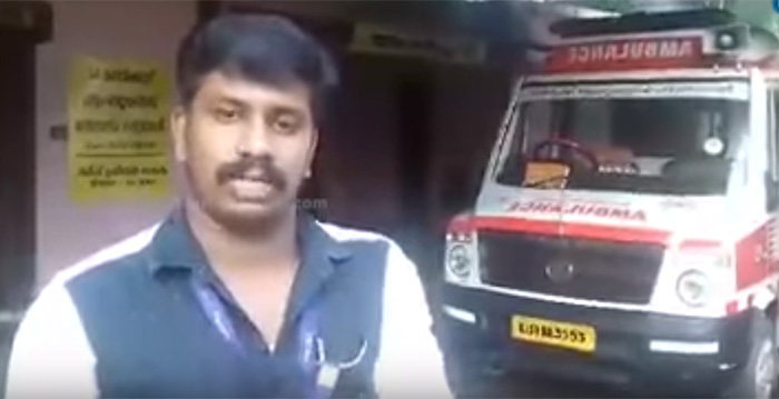 Motor Vehicles Department suspends driver's licence for blocking ambulance
