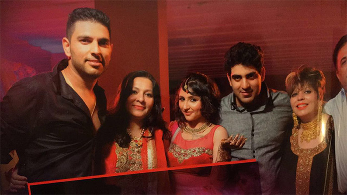 Yuvraj's kin booked for domestic violence