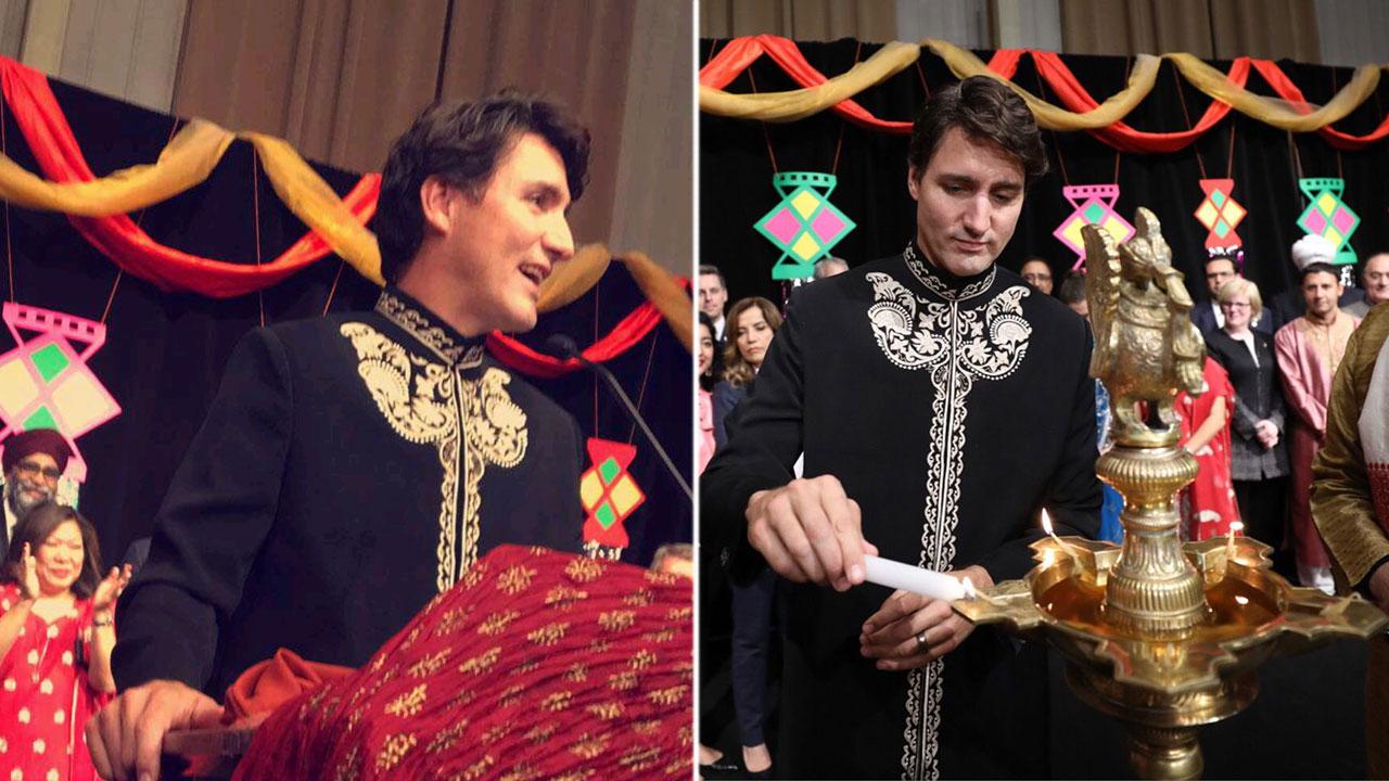 Justin Trudeau Celebrated Diwali In Canada Looking Dapper In A Black Sherwani And OMG!