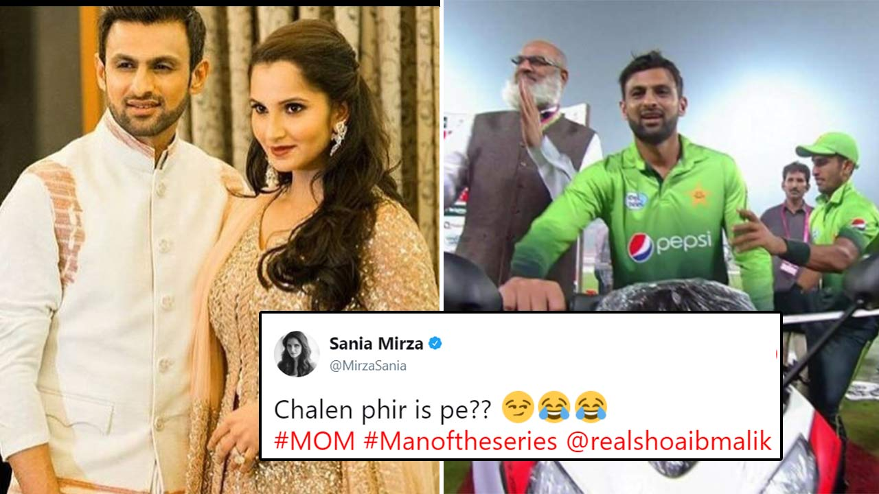 Sania Mirza And Shoaib Malik's Twitter Banter Is Making Us Feel All