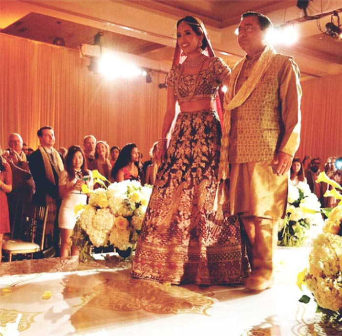 shashi tharoors son got married and the pictures looked