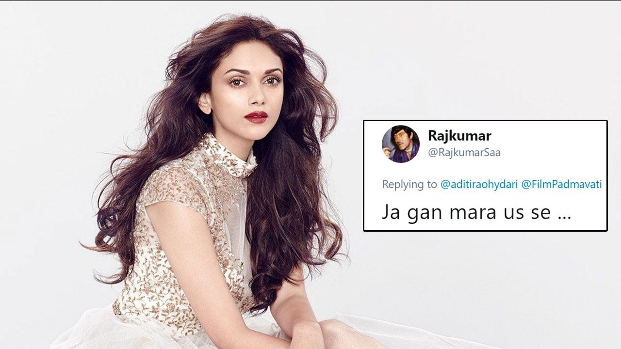 Aditi rao hydari 39 s replies to trolls slamming her for for Aditi indian cuisine