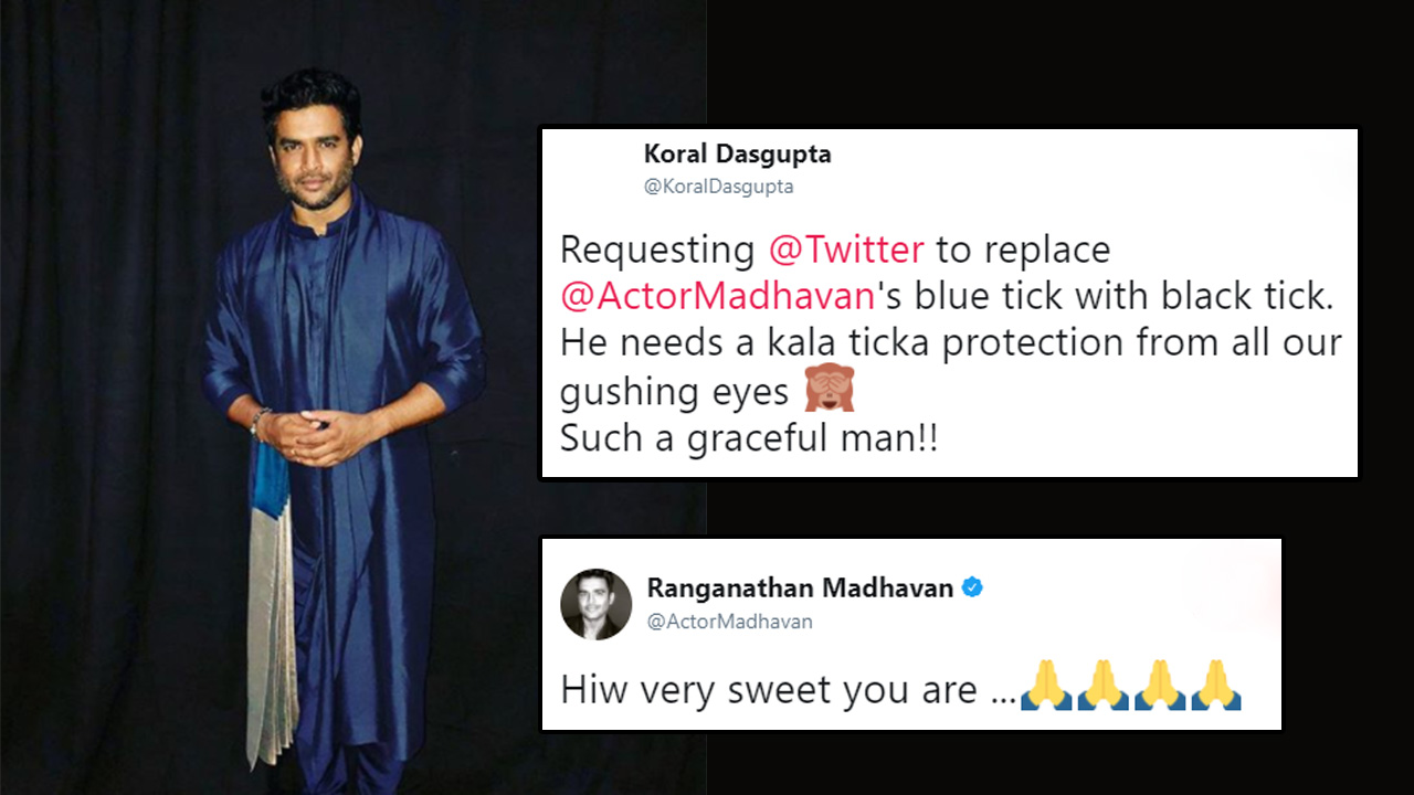 Madhavan's Traditional Look Has Sent Women In A Tizzy And Fangirl In Us Is Screaming
