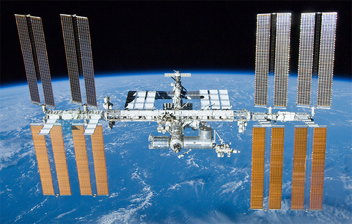 Bacteria Found on Hull of International Space Station