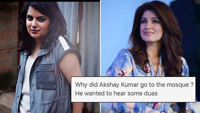 Mallika Dua replies to Twinkle: Here's everything about the Akshay Kumar controversy