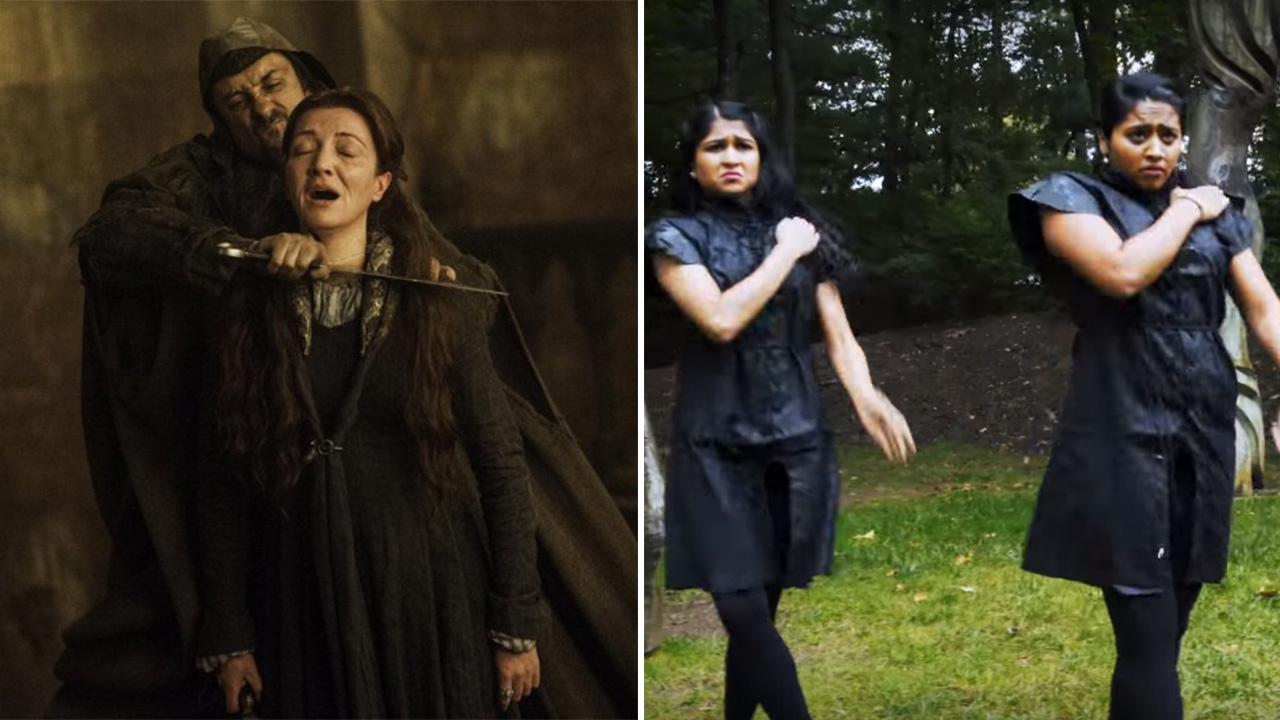 Indian Girls Recreated Red Wedding In Their Game of
