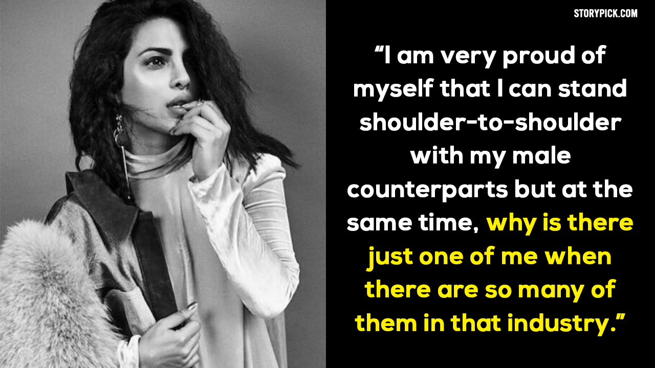 'Courage and flaws made me what I am,' says Priyanka Chopra