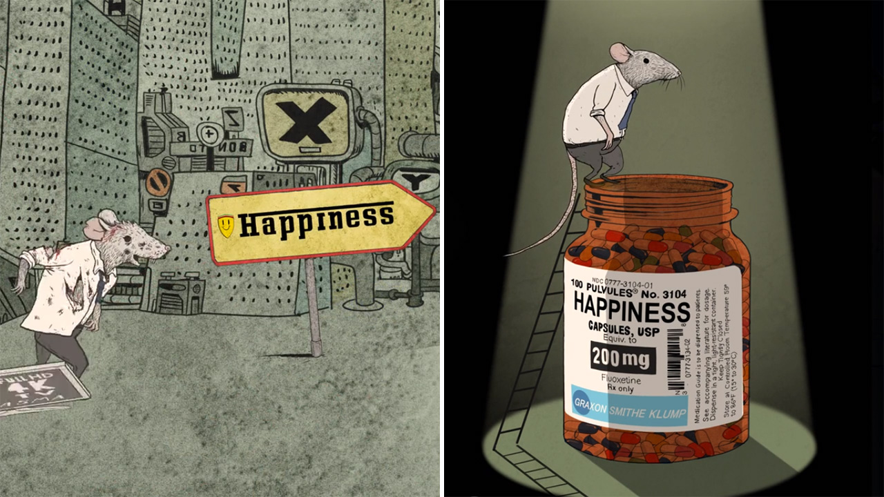 a race to find happiness The cruel truth is that modern society is having a negative effect on our happiness we live in an increasingly competitive, self-obsessed culture which encourages us.
