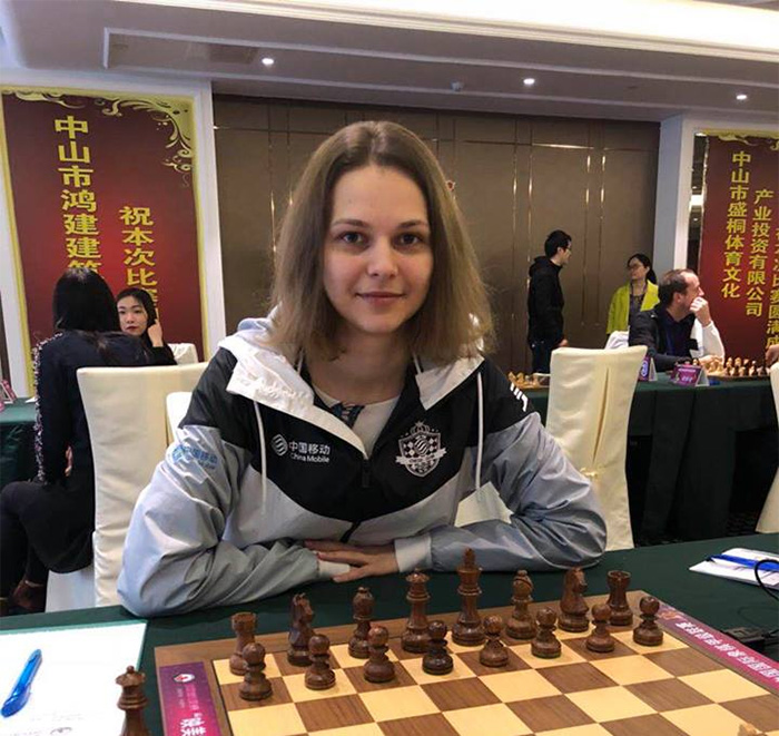 Georgian Nana Dzagnidze wins World Blitz Chess Championship