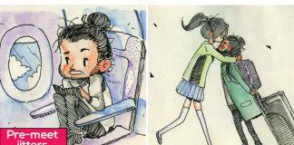 Comics-Blind-Date-Relationship-Illustrations