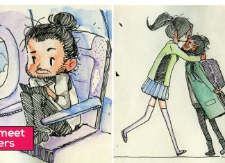 Comics-Blind-Date-Relationship-Illustrations