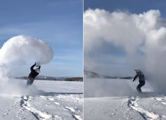 Snow-Cloud-Mpemba-Effect