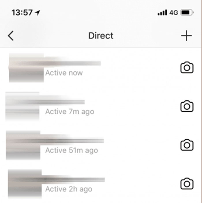Instagram reveals when users were last on the app