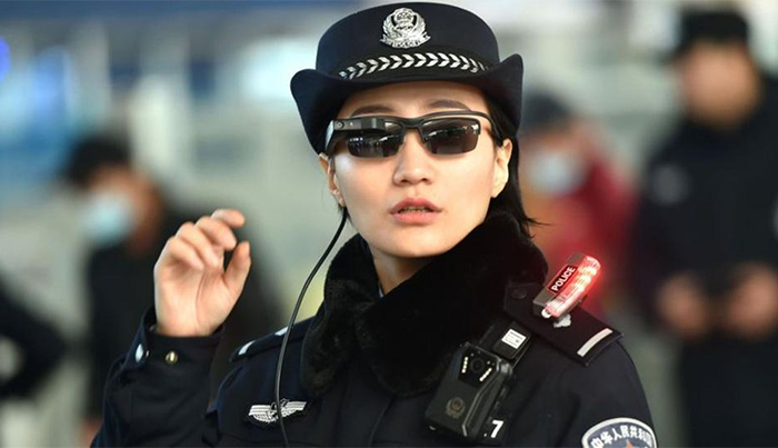 Chinese police use facial recognition glasses to catch criminals