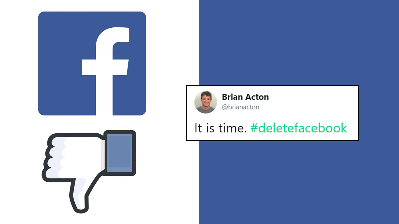 Whatsapp co founder wants everyone to delete facebook zuckerberg in whatsapp co founder wants everyone to delete facebook zuckerberg in deep trouble ccuart Image collections