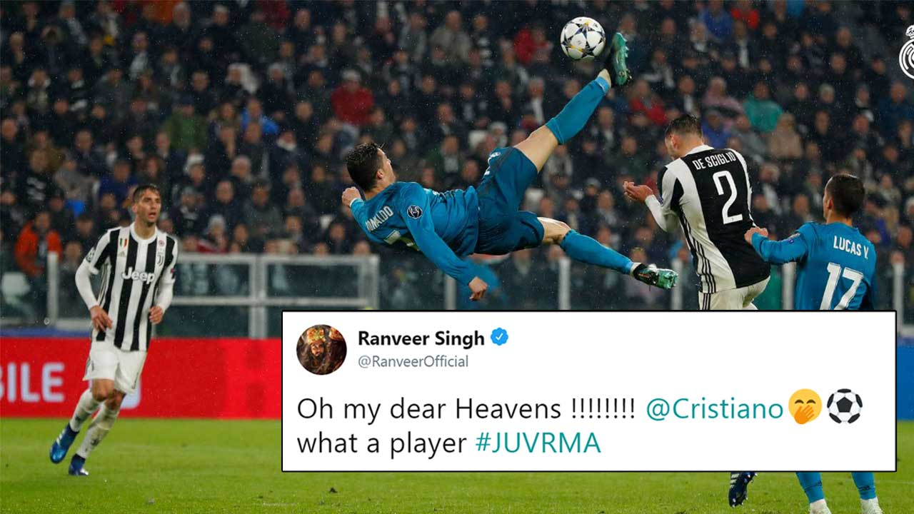 Cristiano Ronaldo Pulls Off A Jaw Dropping Bicycle Kick And Twitter Can T Get Enough Of It