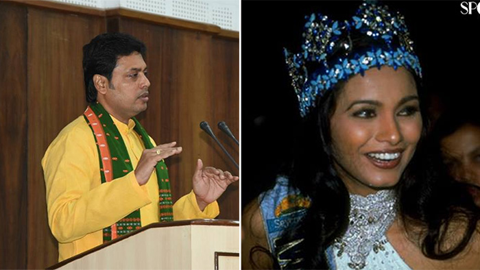 Aishwarya Rai Represents Indian Women, Not Diana Hayden: Tripura CM Biplab Deb