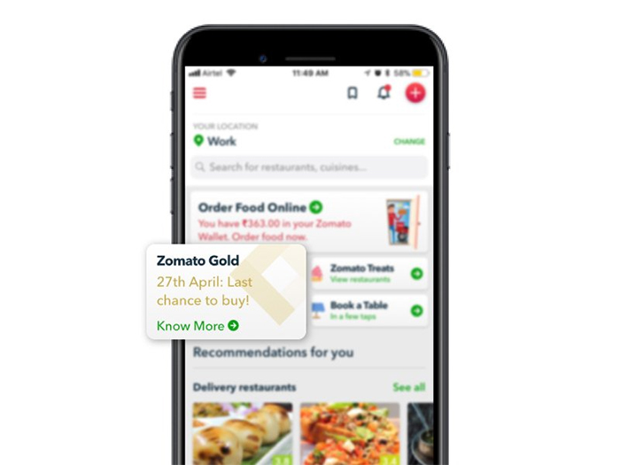 Zomato gold is becoming bigger and by invite only so dont miss if you do you might be left craving for an invite so peeps id hurry you can download the app on ios and android or register on zomato gold stopboris Image collections