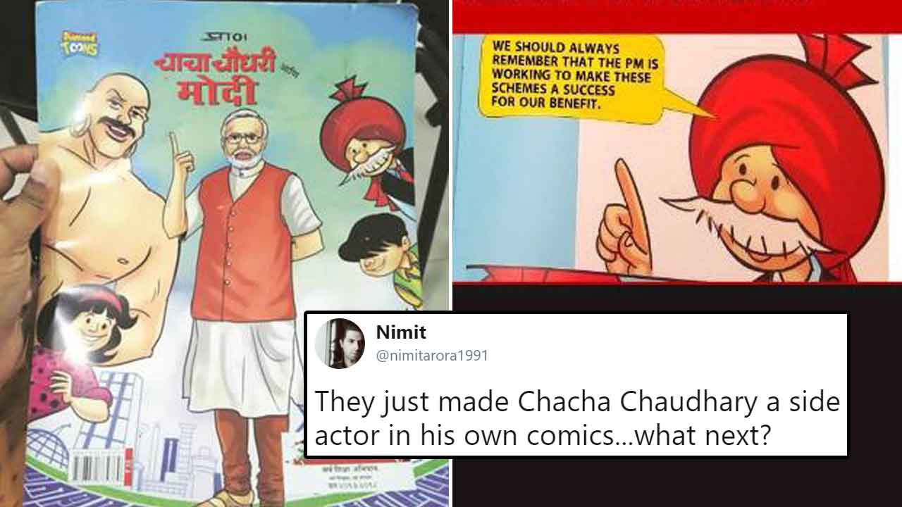 Maharashtra Introduces Chacha Chaudhary Comics feat  PM Modi In