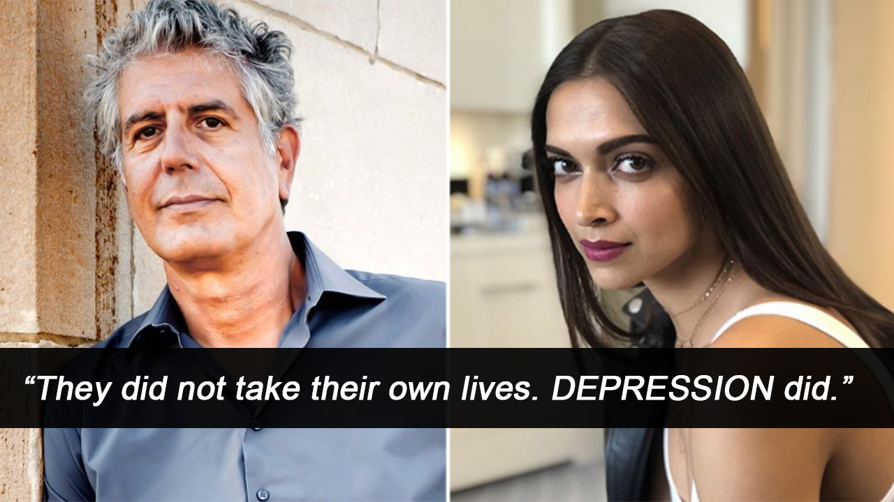 Deepika Shares Powerful Post About Depression Following Kate Spade, Anthony Bourdain's Deaths