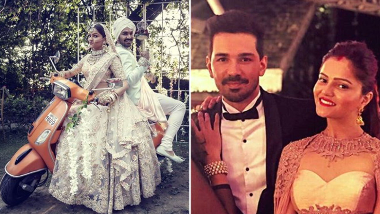 Tv Actors Rubina Dilaik And Abhinav Shukla S Fat Shimla Wedding Looks Like A Total Blast