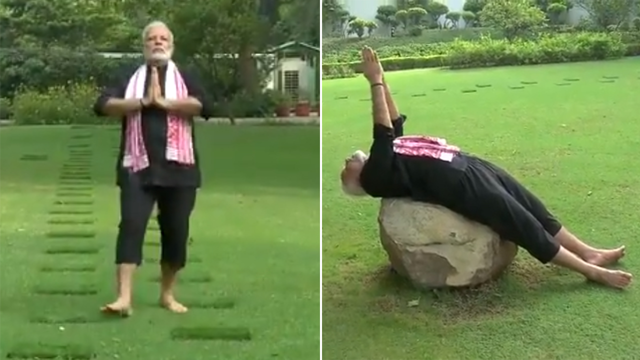 PM shares his fitness video; nominates IPS officers for Fitness Challenge