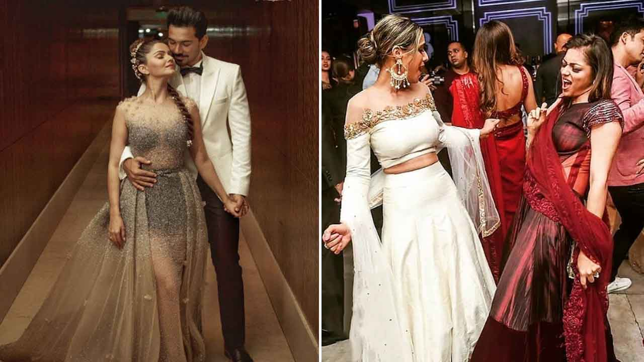 Newlyweds Rubina Dilaik And Abhinav Shukla's Mumbai Wedding