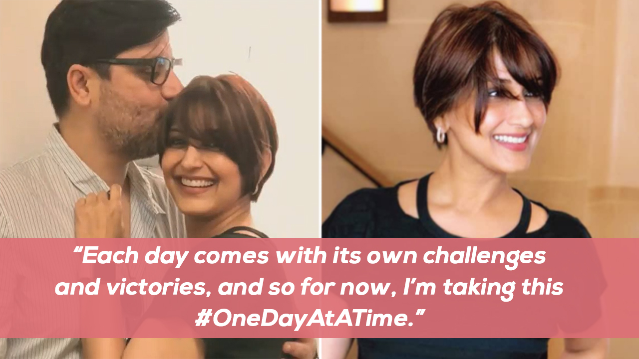 Sonali Bendre Sports Shorter Hair Shares Powerful