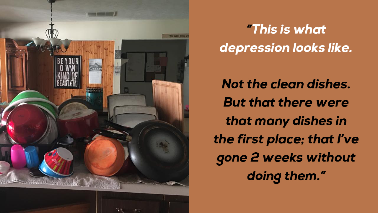 """""""This Is What Depression Looks Like."""" Mom's FB Post About Depression States A Powerful Truth"""
