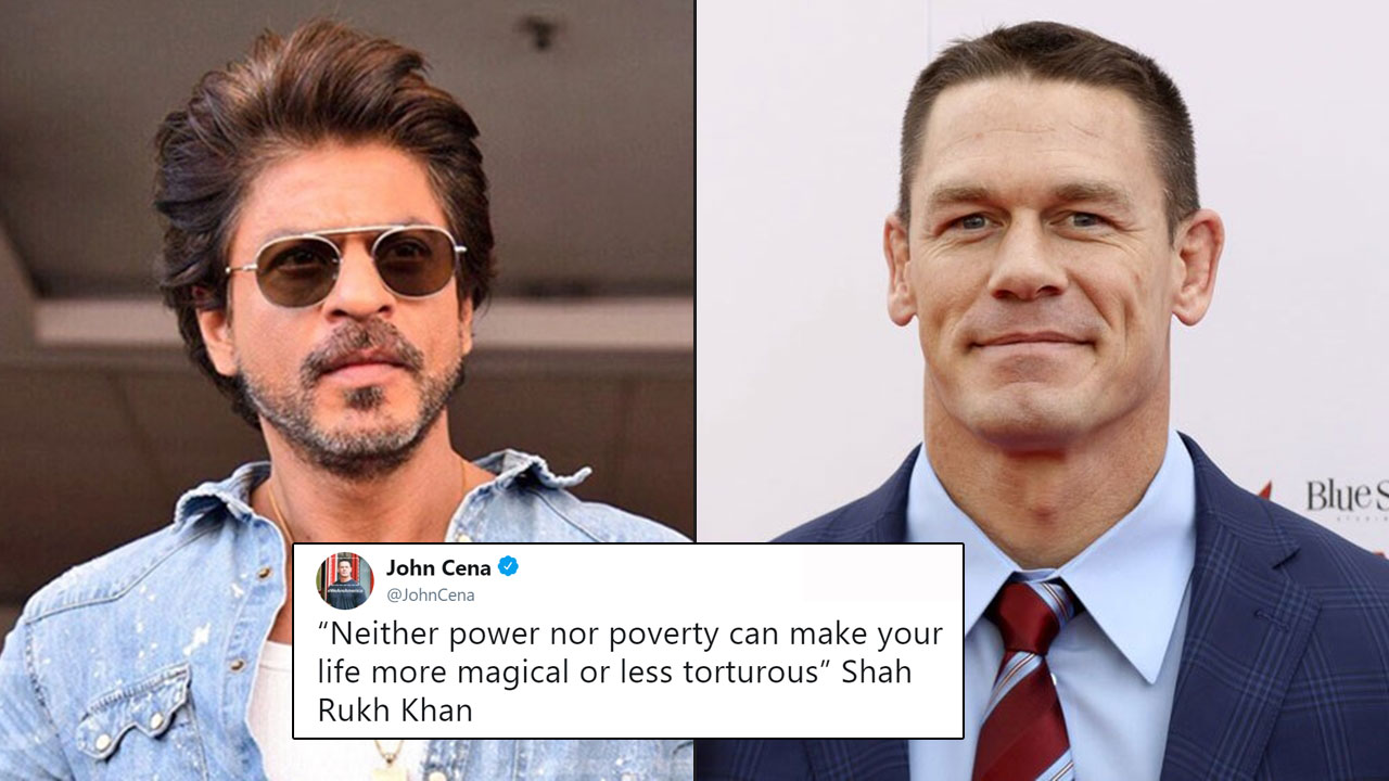 Image result for srk and cena