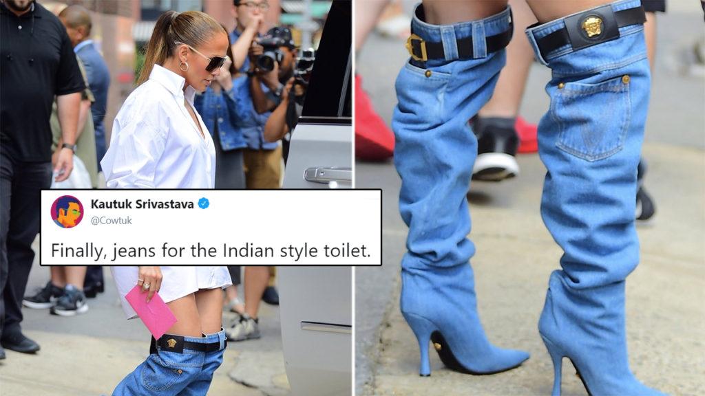 Memes About Jennifer Lopez\u0027s No,Pants Denim Boots Will Make